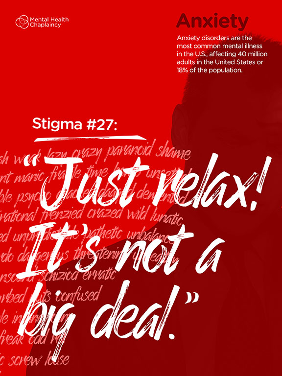 Posters Anxiety Disorders Are The Most Common Mental Illness In US Affecting 40 Million Adults United States Of 18 Population